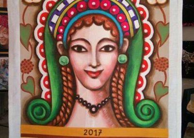 Cencio Dipinto 2017 - Palio Donne